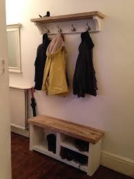 Wooden Coat And Shoe Rack