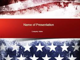 American Flag Powerpoint Painted American Flag Powerpoint Template Authorstream