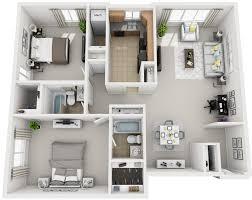 Wonderful For The 2 Bedroom Floor Plan.