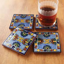 Decorative Tile Coasters Luxury Talavera Tile Decorative Accents Native Trails 83