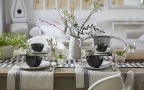 home visit a simple yet beautiful table setting