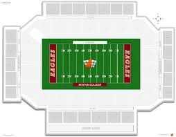 Commonwealth Stadium Seating Chart Alumni Stadium Boston College Seating Guide