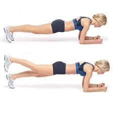 Упражнение Планка для идеального пресса Усложнённое упражнение планка