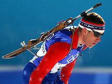 Зимние виды спорта Википедия Американский биатлонист Джереми Тила в 2002 году на Зимних Олимпийских играх