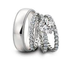 Cheap Matching Wedding Rings For Bride And Groom