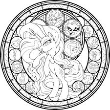 My Little Pony Little Rarity Coloring Pages With My Little Pony