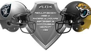 Raiders Vs Jaguars Through The Years