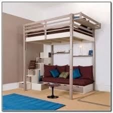 Full size loft bed with stairs 4