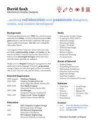 Doc One Page Resume One Page Resume Template 11 Free Word