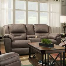 pandora double reclining sofa with console and power headrests southern motion furniture pandora collection