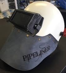 pipeliner helmet pipe painted