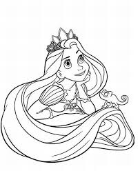 Small Picture Tangled Coloring Pages GetColoringPagescom
