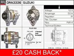 subaru justy alternator wiring diagram toyota sienna alternator alternator fits subaru justy mk2 1 3 96 to 03 ef13 manual remy on