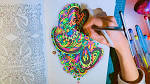 Раскраска для ручки