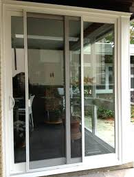 self storing storm door x mobile home sizes inch with retractable screen tight in sliding garage