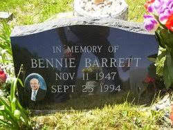 Bennie Barrett (1947-1994) - Find A Grave Memorial