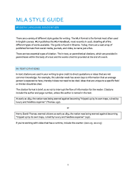 Mla Format Online Fillable Online The Mla Format Is The Format Most Often Used Fax