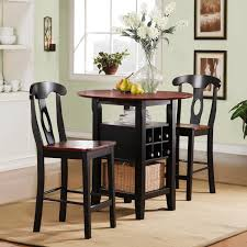 Perfect Small Kitchen Tables 3 Piece Dining Set Tall Kitchen Table Sets Chic Square  Dining Room Table
