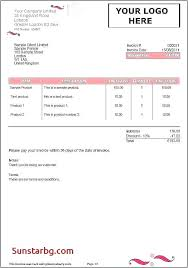 Word Receipt Template Fresh New Free Printable Invoice Model