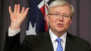 Kevin Rudd is reinstated as Australia's prime minister on Wednesday after ousting Julia Gillard from the leadership of the country's Federal Parliamentary ... - Kevin-Rudd-016