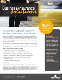 flyer companies business insurance solutions flyer