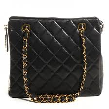 CHANEL Vintage Lambskin Quilted Shoulder Bag Black 72445 & CHANEL Vintage Lambskin Quilted Shoulder Bag Black Adamdwight.com