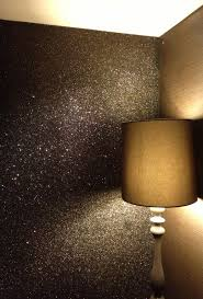 Silver Glitter Wallpaper For Bedroom Des Daccors Brillants Wall Lighting Glitter And Wallpaper Accent
