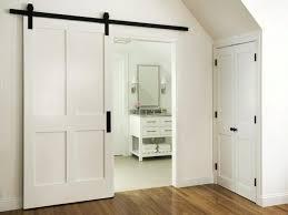 sliding barn doors. Home Designs:Barn Door For Bathroom Bathrooms Design Sliding Barn Privacy Rustic Doors