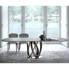 infinity table oval dining tables ultra modern furniture and chairs designs
