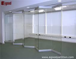 exterior and interior use frameless sliding folding glass doors cozy ideas design