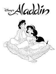 Discover incredible coloring pages with aladdin, jasmine, the genius, jafar and other charaters. Printable Aladdin Coloring Pages Coloringme Com