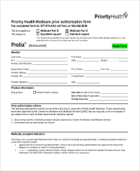 Authorization Request Form Gorgeous Sample Medicare Authorization Forms 48 Free Documents In PDF