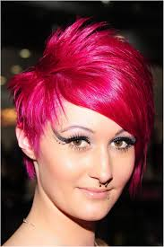 Dyed Hairstyles New Images Of Short Hair Dyed Orchid Pinksimple