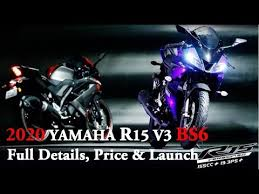 2020 yamaha r15 v3 bs6 model launch in