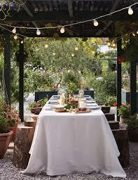 garden lighting ideas. alfresco festoon canopy garden lighting ideas
