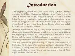essay tragedy julius caesar  essay tragedy julius caesar