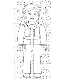American Girl Coloring Pages To Print Coloring Pages Girl Girl