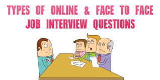 Job Interview Types Types Of Online Job Interview Questions Recruitment Agency