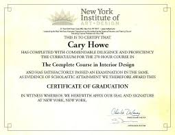certificate of interior design. Unique Certificate Interior Decorator Certification  For Certificate Of Interior Design O
