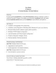 Pc Technician Cover Letter Mental Health Technician Cover Letter