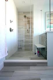 wood look tile shower floor designs photos
