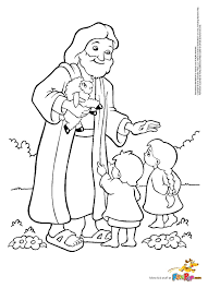 Small Picture Best Jesus And Children Coloring Page 73 With Additional Coloring