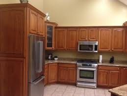 wood colored paintKitchen Cabinet Wood Stain Colors Modern Inside Kitchen  Home