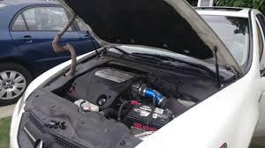 Acura TL 2008 K&N Cold Air Intake (Short Ram) - YouTube