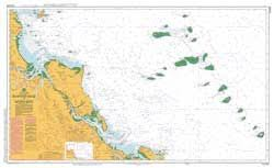 Australian Hydrographic Charts Nautical Chart Aus 819 Bustard Head To North Reef By Australian Hydrographic Service 2016