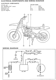yamaha pw80 wiring diagrams troubleshoot electrical issues yamaha 2001 pw80 wiring diagram