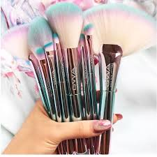 cute makeup brushes. beauty junkie and makeup collector sandy trang with her new gwa unicorn fantasy collection brushes cute 0