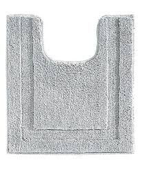 contour toilet rug gray spa contour toilet rug toilet contour mat big w