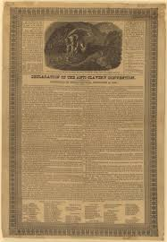 massachusetts historical society the case for ending slavery declaration of the anti slavery