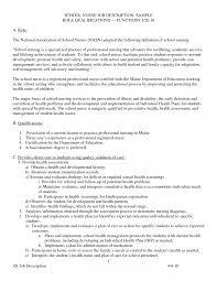Registered Nurse Job Description For Resume Jd Templates Nurse Job Description Template Registered Resume 10